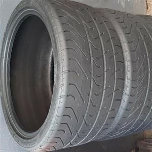X4 285/30/19 Pirelli P Zero tyres