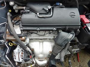 NISSAN MICRA 1.4L 16V, CR14 Engine