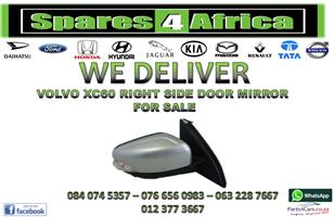 VOLVO XC60 RIGHT SIDE DOOR MIRROR FOR SALE