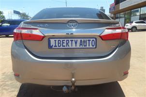 2016 Toyota Corolla COROLLA 1.8 EXCLUSIVE CVT