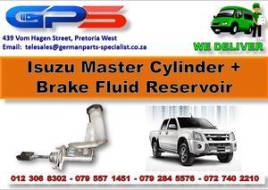 Used Isuzu Master Cylinder + Brake Fluid Reservoir  for Sale