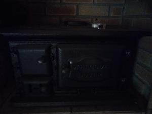 Black coal stove for sale