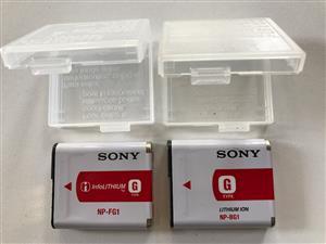 Sony digital camera batteries R100 each
