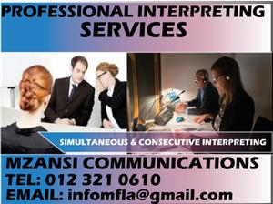 SPANISH/ENGLISH LEGAL INTERPRETING SERVICES