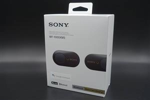 SONY WF-1000Xm3 Earbuds NEW
