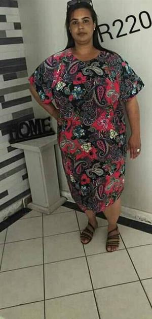 Multi colored summer dress