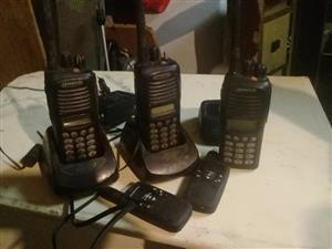 Kenwood walkie talkies for sale