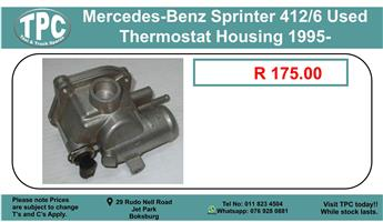 Mercedes-Benz Sprinter 412/6 Used Thermostst Housing 1995- For Sale.