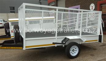 UTILITY TRAILER WITH MESH FOR SALE