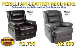 PERILLI Air Leather Recliners