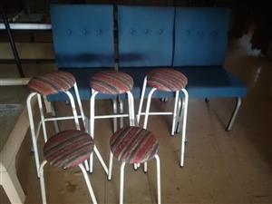 5 Bar stoele te koop