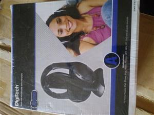 Digitech wireless headphones