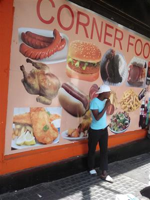 Very busy food Restaurant for sale in Johannesburg cbd central