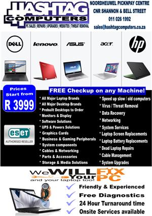 BRAND NEW LAPTOPS/PC's/PRINTERS/ROUTERS