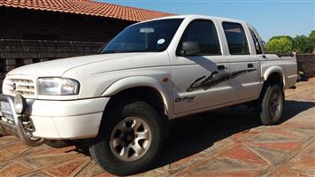2001 Mazda Drifter B2600 4x4 double cab SLE
