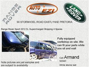 Range Rover Sport 2012 5L Supercharged Stripping for Spares