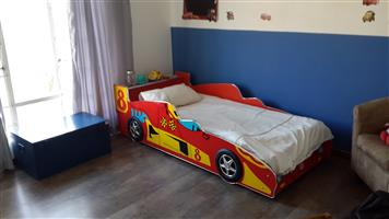 Car Themed Bed