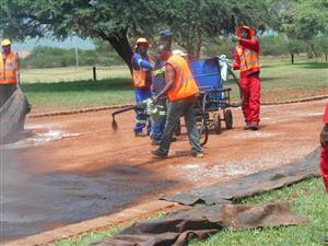 asphalt surfaces tar surfaces road tarring speed humps road markings