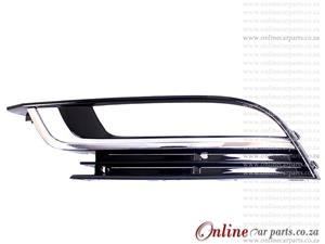 VW Passat CC 2.0 TFSI Left Hand Side Front Bumper Grille With CP Moulding and Fog Lamp Holes 2012-