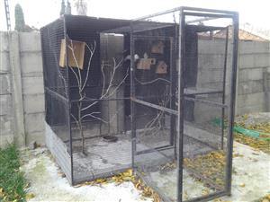 big outdoor bird cage