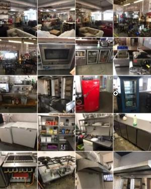 Kitchen equipment , furniture and fittings complete - Urgent sale