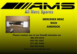 MERCEDES BENZ W220 AIR SHOCKS FOR SALE