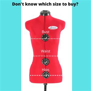 Adjustable Dressmaker Sewing Dolls / Mannequins