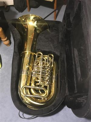 Wessex CC Tuba with case