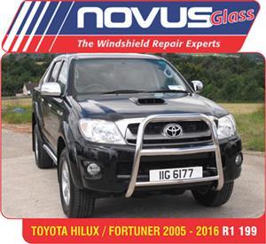 Wind Screen , Windscreen Toyota Hillux/Fortuner 2005-2016 from R1199.00