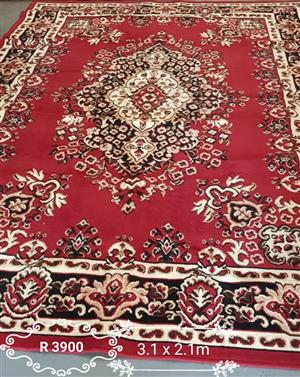 Red persian carpet for sale
