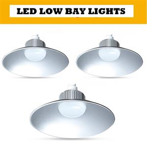 LED Low Bay Lights High Bay Lights: AC185V ~ 245V Cool White 30W and 50W. Brand New Products.