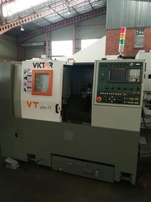 Victor VT 15 CNC lathe for sale