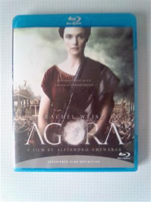 "Blu-ray DVD Movie ""Agora"". As well as other Movies and Music Blu-ray DVD's R60 each. Please WhatsApp me for List of them. I am in Orange Grove."