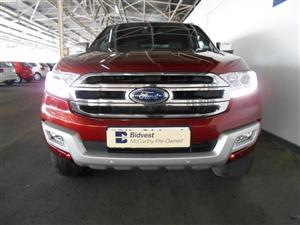 2016 Ford Everest EVEREST 3.2 LTD 4X4 A/T