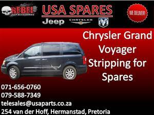 Chrysler Grand Voyager (blue) Stripping for Spares.