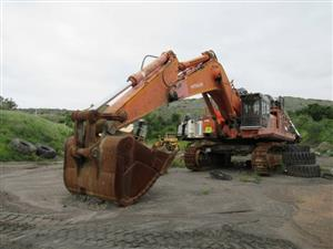 Hitachi EX1200-5 Super Excavator - ON AUCTION