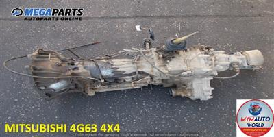 IMPORTED USED MITSUBISHI 4G63 4X4 GEARBOX