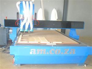 R-2030C2/45L EasyRoute 380V Standard 2050x3050mm Aluminium T-Slot Clamping CNC Router
