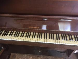 1960s Schindhelm upright piano in excellent condition