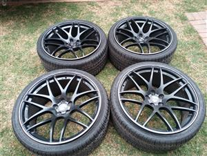 Range Rover LUMMA CLR23GT Rims & Tyres