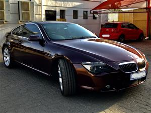 2005 BMW 6 Series 650i coupe