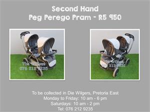 Second Hand Peg Perego Pram