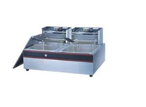 Electric Fryer 2-Tank 2-Basket