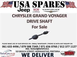 CHRYSLER GRAND VOYAGER XJ DRIVE SHAFT FOR SALE !!