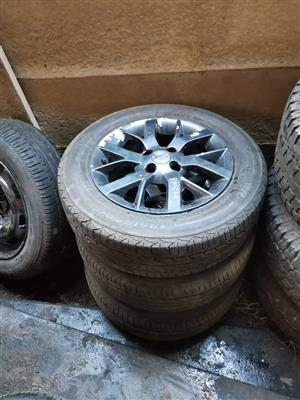 Nissan Almera tyres available as a set