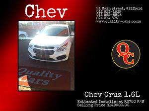 2016 Chevrolet Cruze 1.6 L