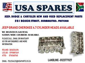 JEEP GRAND CHEROKEE 4.7 CYLINDER HEAD (FOR SALE)