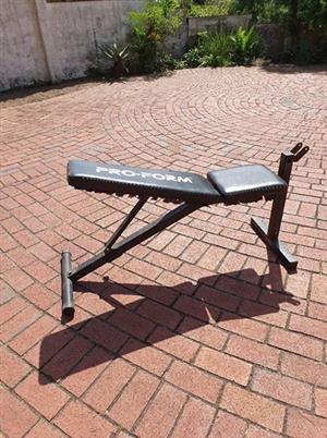 Pro form bench