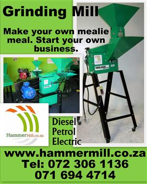 Hammer mill Hammermill TGS 210 E MiniMax (hammermill.co.za)