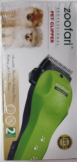 Brand new. Professional Pet hair clipper. Good quality, sturdy & strong.